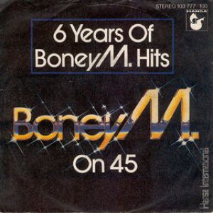 6 Years of Boney M. Hits Album
