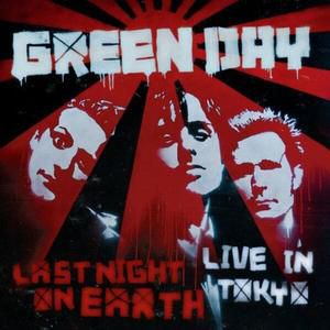 Last Night on Earth: Live in Tokyo Album