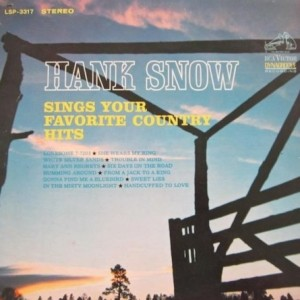Hank Snow Sings Your Favorite Country Hits - album