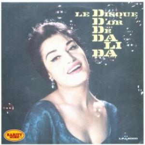 Le disque d'or de Dalida Album